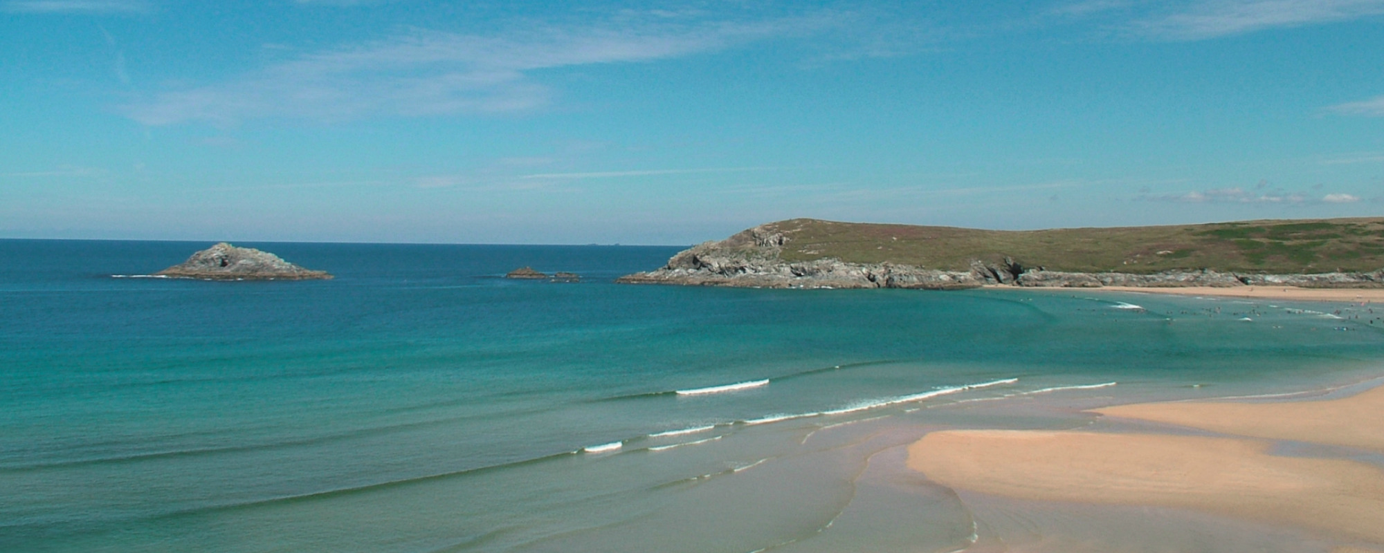 Crantock Bay Apartemts beach view - Welcome to Crantock Bay