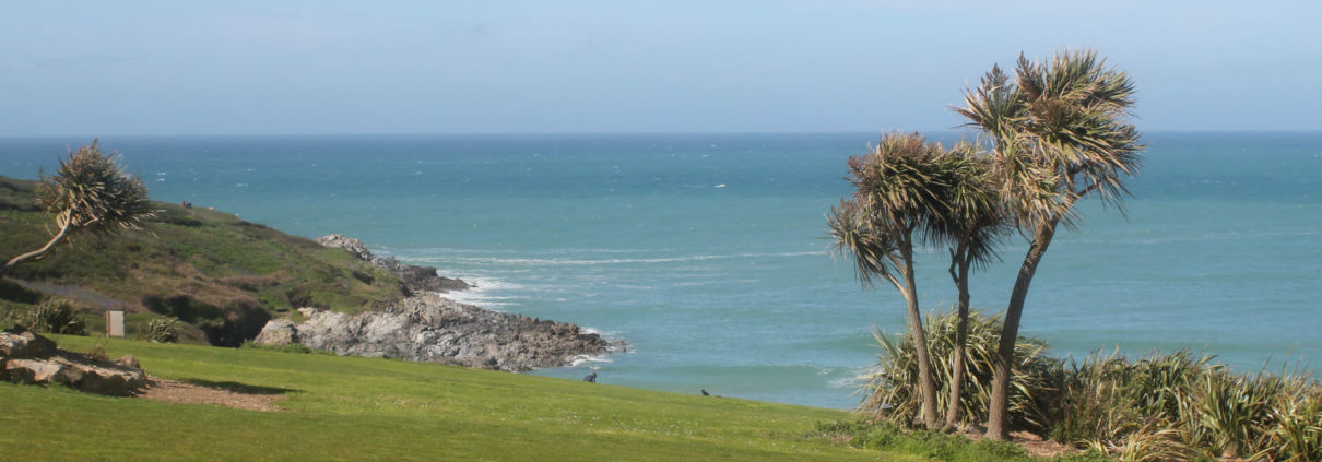 Crantock Bay Apartment 3 view 1210x423 - Holiday Apartment 3