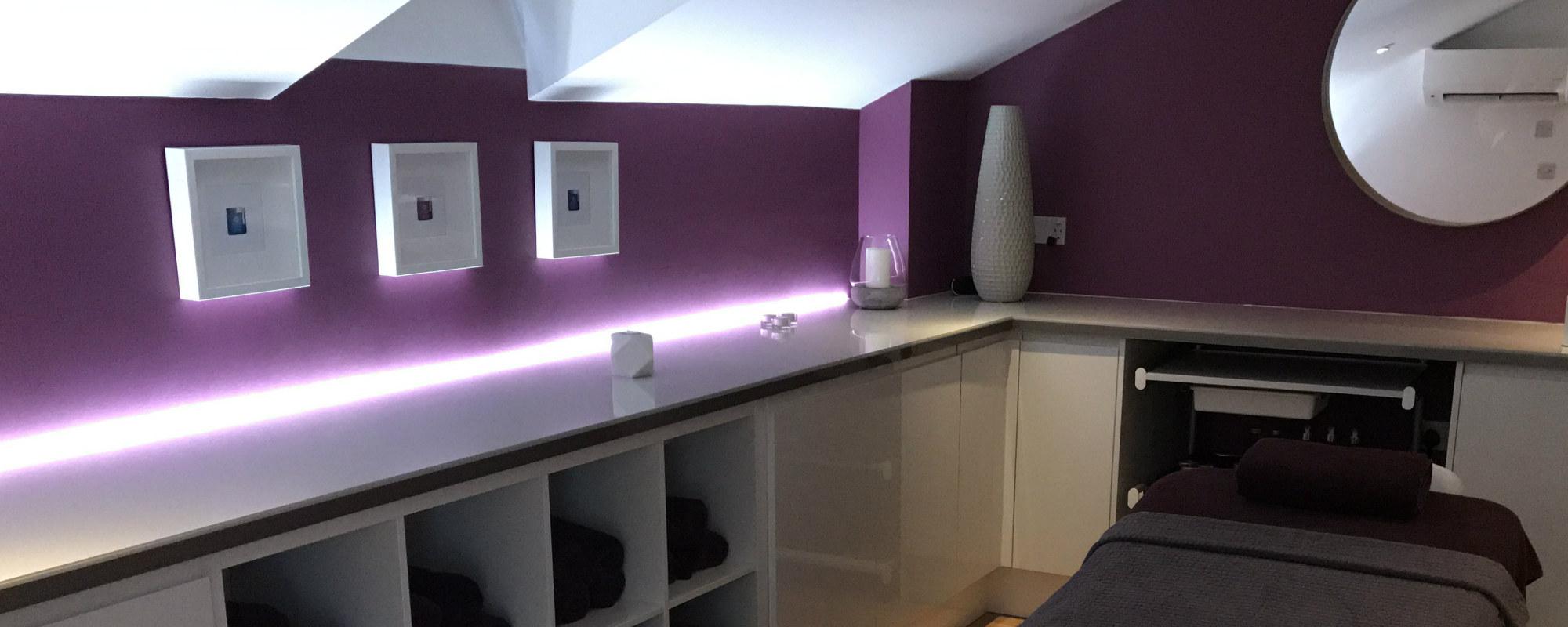Crantock Bay Spa room 3 - Crantock Bay Spa