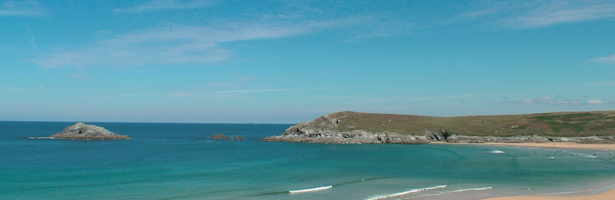 Crantock Bay Webcam - Crantock Bay Webcam