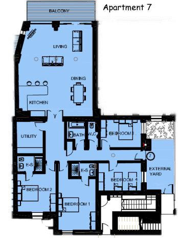 plan 7 - Holiday Apartment 7