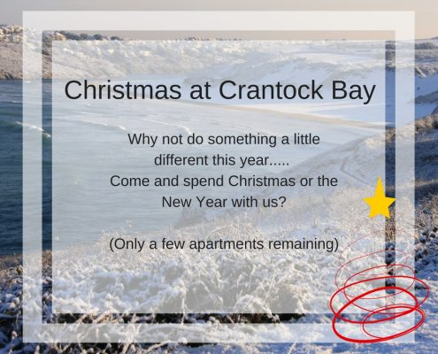 MerryChristmas 495x400 - Crantock Bay Webcam