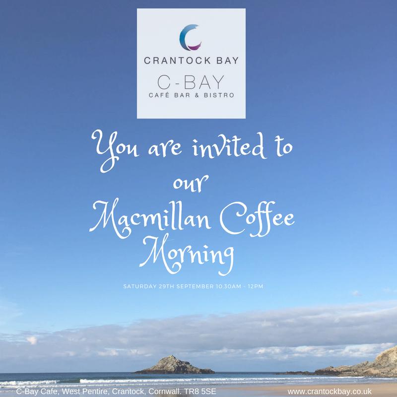 Macmillan Coffee Morning 29th Sept 18 - Macmillan Coffee Morning 29th Sept 18