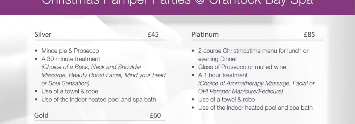 Christmas Pamper Parties 18 1 1210x423 - Christmas Pamper Parties @ Crantock Bay Spa