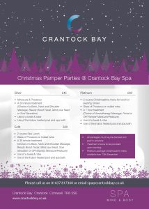 Christmas Pamper Parties 18 1 214x300 - Christmas Pamper Parties @ Crantock Bay Spa