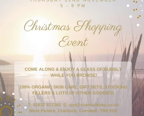 Christmas Shopping Event 18 495x400 - Welcome to Crantock Bay