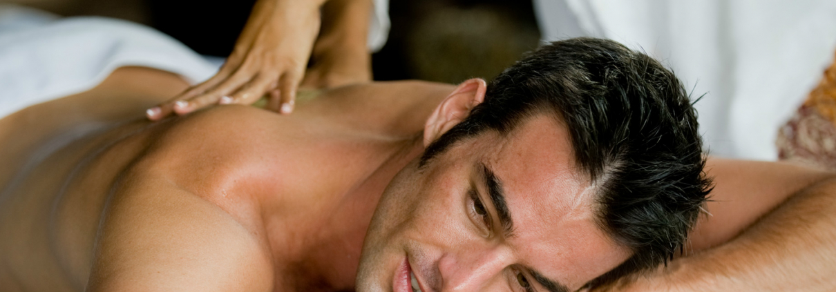 Crantock Bay Spa Mens Massage