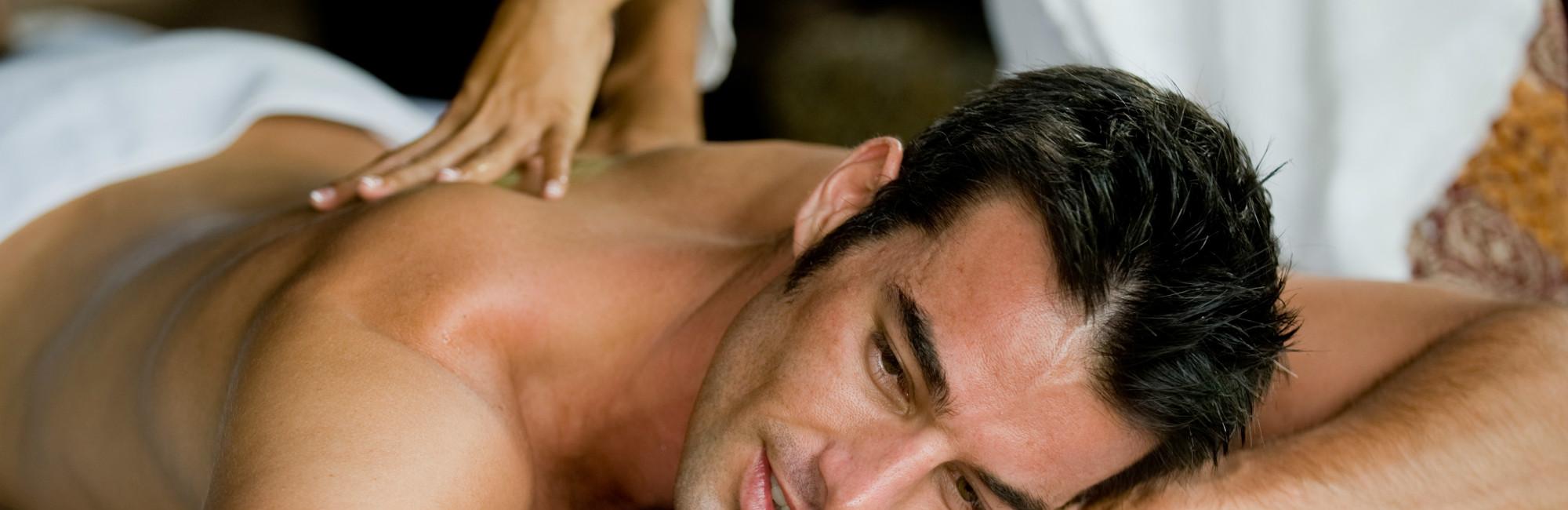 Crantock Bay Spa Mens Massage - Spa Treatments