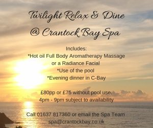 Twilight Relax Dine 1 300x251 - November Special Offer in the Spa