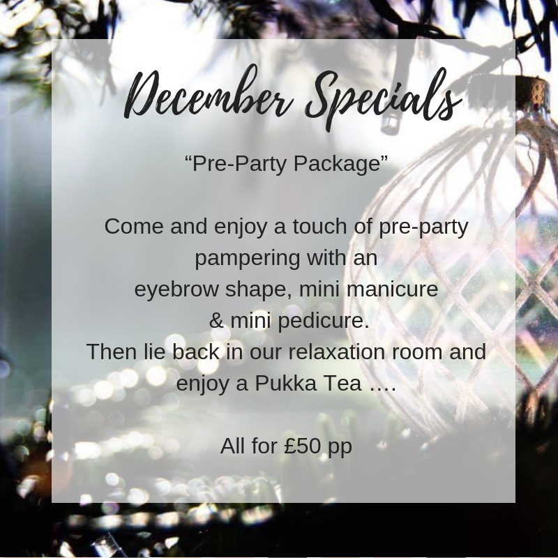 December Specials 1 - December Special Offer