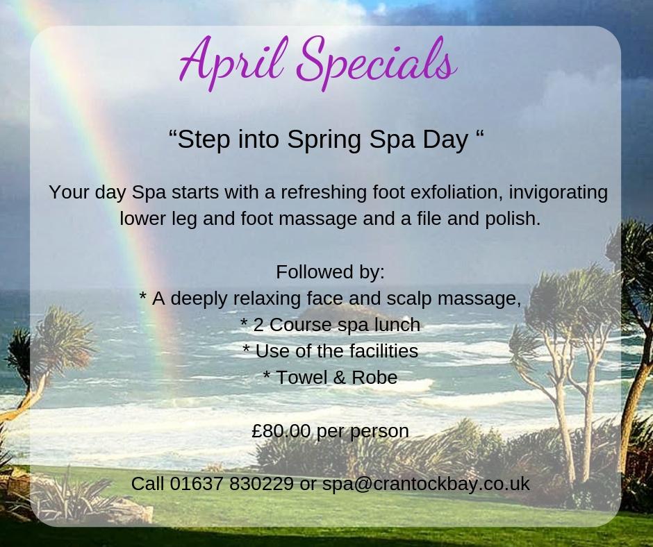 April Specials 1 - April Special Offers