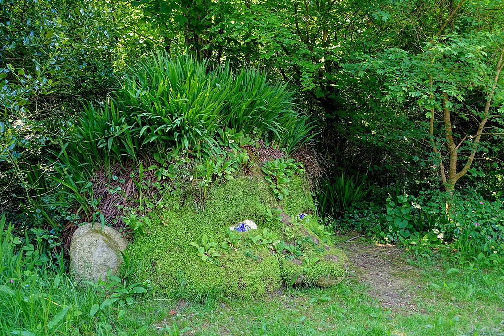 Giants Head   Lost Gardens of Heligan   Cornwall England   DSC02642 - Top attractions to visit within an hour of Crantock Bay Apartments