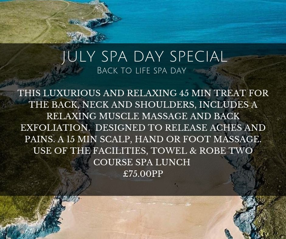July spa offer - July Special Offer