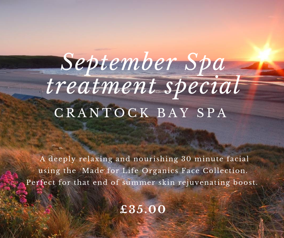September special treatment 002 - September Spa Treatment Offer