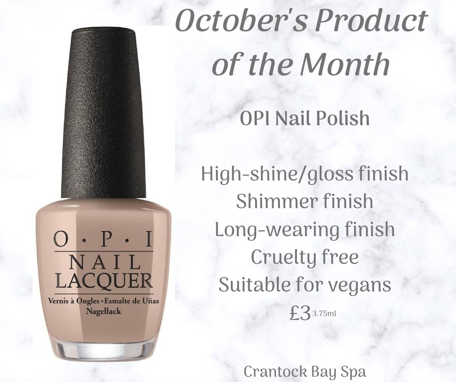 October Product of the Month 1 - October Retail Offer of the month