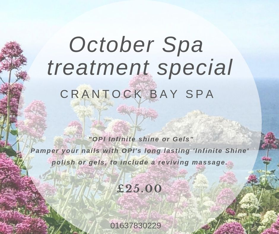 October Spa Treatment Special 1 - October Treatment of the Month