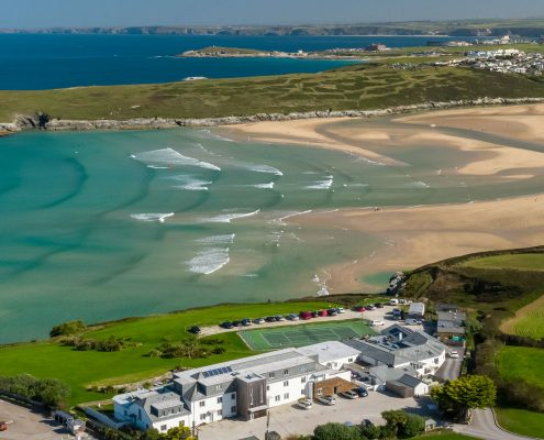 Crantock Bay Apartments homepage 495x400 - Welcome to Crantock Bay