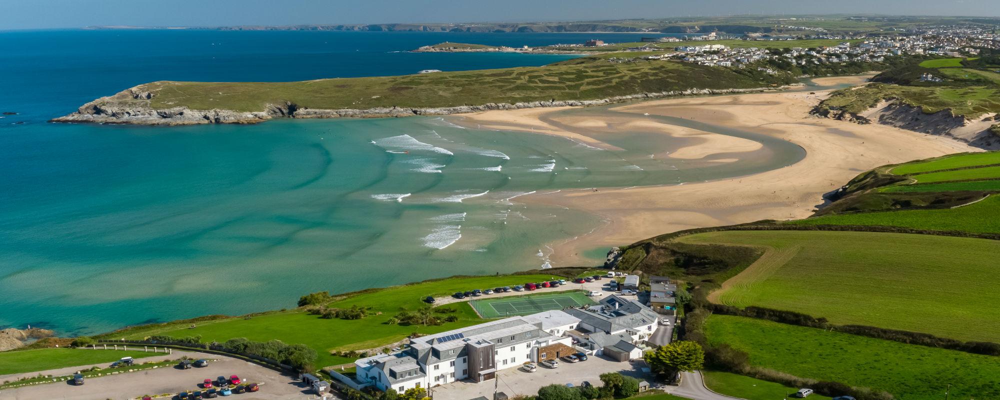 Crantock Bay Apartments homepage - Welcome to Crantock Bay