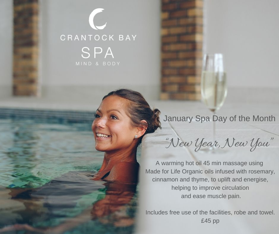 Jan 20 Spa day of the month - Spa