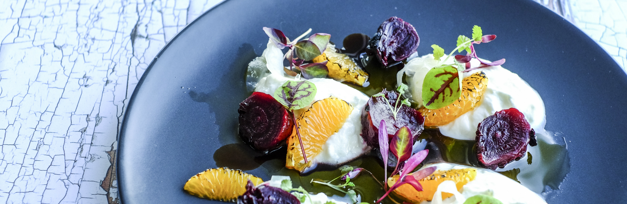 Goats cheese and beetroot - C-Bay café/bar/bistro