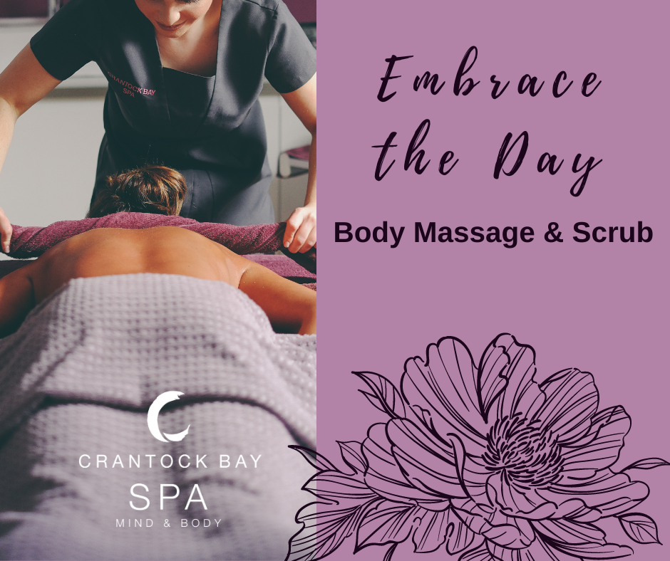 September Spa day Embrace the Day - September treatment of the Month